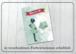 "Mutterpasshülle ""Mom to be"""