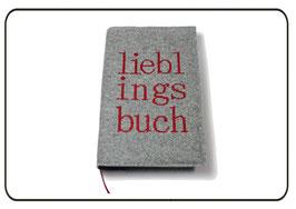 Buchhülle Lieblingsbuch