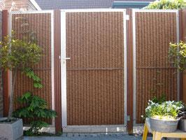 Kokowall deur (verzinkt) met cilinderslot