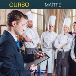 OFERTA! Curso Online de Maître + Titulación Certificada
