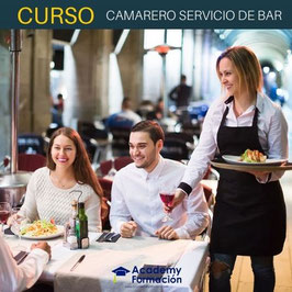 OFERTA! Curso Online de Camarero Servicio de Bar + Titulación Certificada