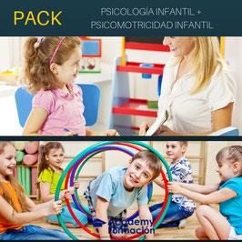 OFERTA! Cursos Online de Psicología Infantil + Psicomotricidad Infantil. Titulaciones Incluidas.