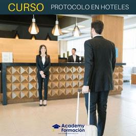 OFERTA! Curso Online de Protocolo en Hoteles + Titulación Certificada
