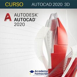 OFERTA! Curso Online de Autocad 2020 3D + Titulación Certificada