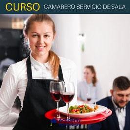 OFERTA! Curso Online de Camarero Servicio de Sala + Titulación Certificada