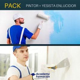 OFERTA! Cursos Online de Pintor de Casas y Edificios + Yesista Enlucidor. Titulaciones Incluidas.