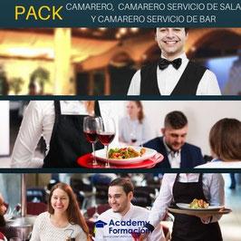 OFERTA! Curso Online de Camarero + Camarero Servicio de Sala + Camarero Servicio de Bar ( 3 Titulaciones Certificadas )