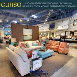 OFERTA! Curso Online de Escaparatismo en Tiendas de Decoración (Muebles, Textil y Complementos Decorativos) + Titulación Certificada