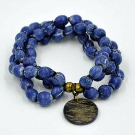 Bracelet Majok bleu