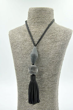 Collier Tassel noir