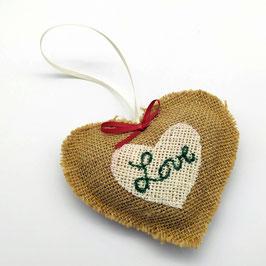 Décoration de Noël - cœur