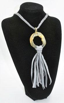Collier Amazone gris
