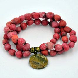 Bracelet Majok rouge