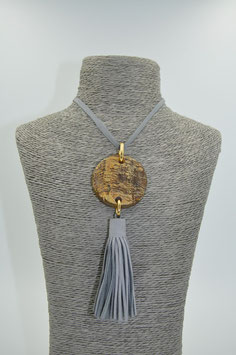 Collier China Girl gris