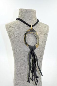 Collier Amazone noir L