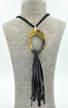 Collier Amazone noir M