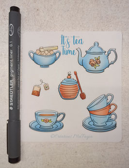 Stickers It's Tea Time
