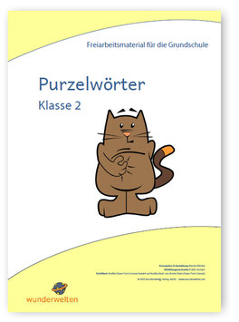 Schüttelwörter - Purzelwörter - Buchstabensalat