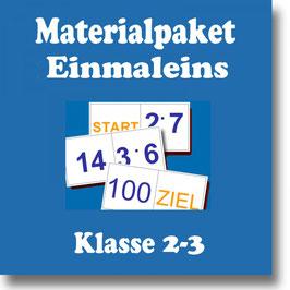 Einmaleins Klasse 2-3 - Freiarbeitsmaterial zum Festigen und Vertiefen