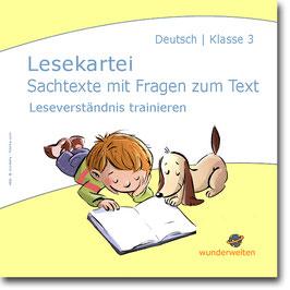 Kurze Sachtexte 3: Leseverständnis trainieren mit Fragen zum Text