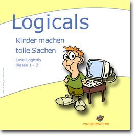 Logicals - Leserätsel für die 1. - 2. Klasse