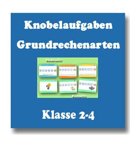 Knobeln Mathematik Klasse 2-4 - Training der Grundrechenarten