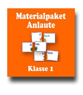Anlaute - Anlautübungen - Materialpaket