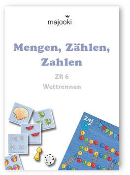 """Mengen, Zählen, Zahlen ZR6 – Spiel """"Wettrennen"""""""