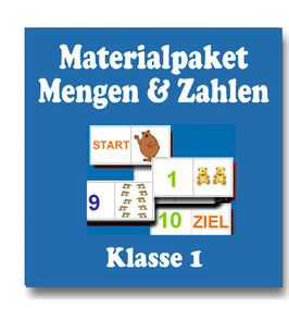Mengen, Zählen, Zahlen im ZR10 - Materialpaket