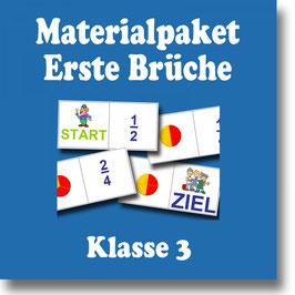 Erste Brüche - Anbahnung der Bruchrechnung - Mathematik Klasse 3