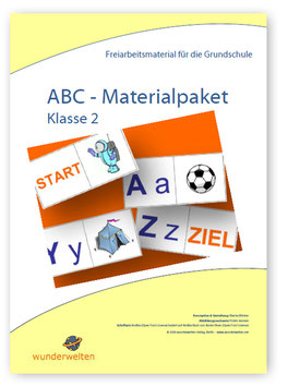 ABC - das Alphabet - Materialpaket