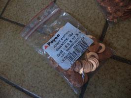 n°7ce4 lot joint rondelle cuivre 8,5 x 17 x 1 kg5102