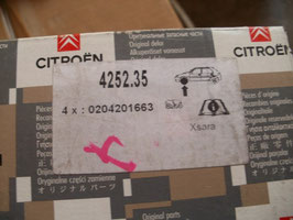 n°28 plaquettes xsara 425235