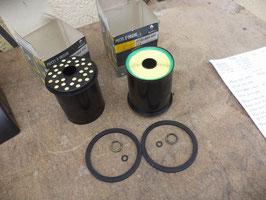 n°rn409 lot filtre gazoil renault clio megane safrane 7701204497