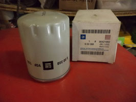 n°au88 filtre huile opel ascona astra kadett vectra 90421982 650388