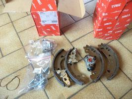 n°7ce51 kit frein arriere fiat panda uno bk1737 trw