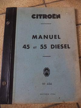 n°h97 manuel reparation citroen 45 55 diesel n°434