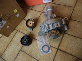 n°de124 kit pompe eau galet citroen c4 c5 c8 1609120980