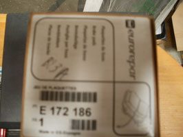 n°v6 jeu plaquette arriere r21 espace 3 laguna e172186