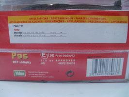n°v222 jeu plaquettes ford cougar mondeo scorpio p95