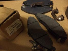 n°gm188 jeu plaquette chevrolet camaro firebird 18026298