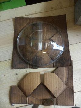 n°e243 verre phare bosch mercedes w121 w110 1218260090