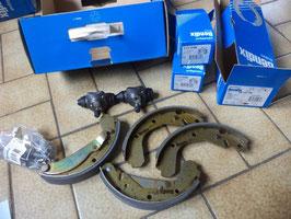 n°gd515 kit frein opel corsa A kadett E 391234b bendix