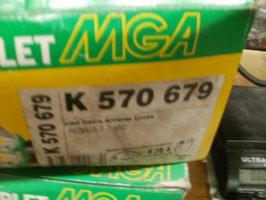 n°n121 jeu machoires arriere renault trafic master k570679