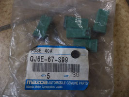 n°ma49 lot 5 fusible 40 amp mazda gj6e67s99
