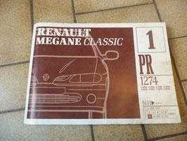 n°rn69 catalogue pieces detachées renault megane classic pr1274-1
