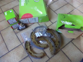 n°gd604 kit frein nissan cherry sunny 553158 valeo