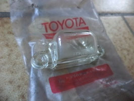 n°sa248 cabochon eclairage plaque toyota starlet 8127122110
