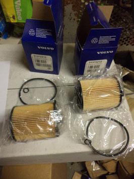 n°vl383 lot filtre huile volvo s60 s80 v40 v60 xc70 31372212