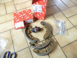 n°7ce47 kit frein arriere rover metro mini 100 bk1850 trw